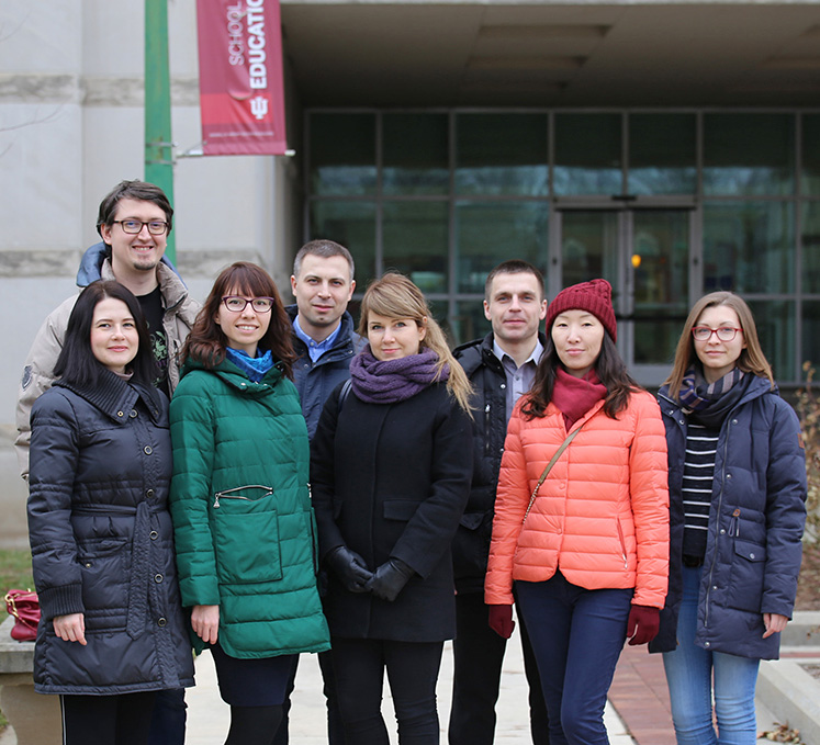 Russian Fulbright administrators